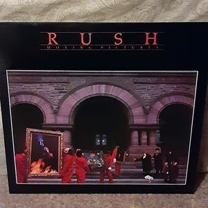 "Vintage 1981 Rush ""Moving Pictures"" Vinyl LP Album"